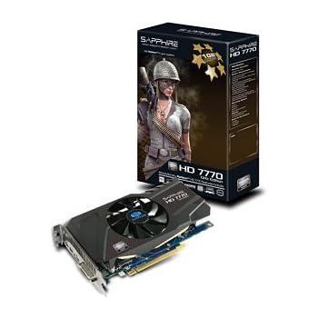 SAPPHIRE Radeon ビデオカード HD7770 1G GDDR5 PCI-E HDMI/DVI-I/DUAL MINI DP SAHD777-1GD5R0