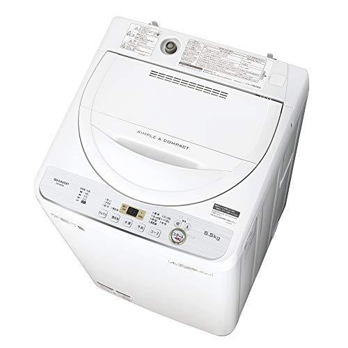 シャープ SHARP 全自動洗濯機 幅56.5cm(ボディ幅...