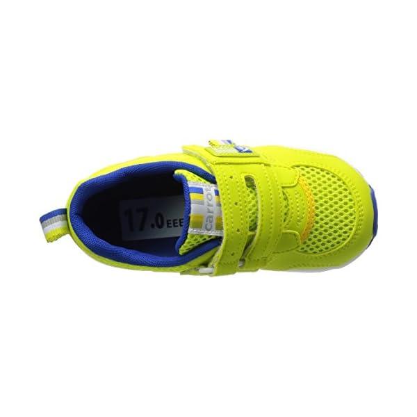 [キャロット] 運動靴 CR C2146 グリ...の紹介画像7