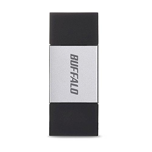 BUFFALO Lightning対応 USBメモリー 16GB シルバー RUF3-AL016G-SV