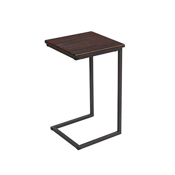 サイドテーブル ブラウン 幅30×奥行30×高さ...の商品画像