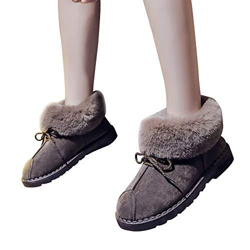 YOKINO ブーツ レディース 冬 靴 ムートン レディー...