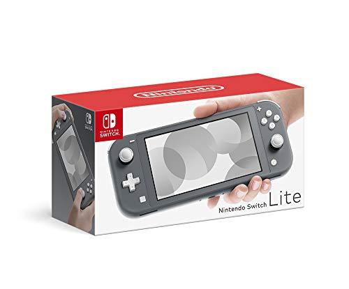 Nintendo Switch Lite グレー 【予約特典】デジタル壁紙 (デザイン未定) 配信