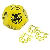 ジャイアントクトゥルフダイス(Giant Cthulhu Dice)Yellow/Black