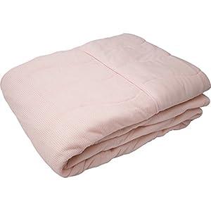 タオルケット 接触冷感 Qmax0.38 抗菌防臭 吸放湿 洗える クールケット 幅140×奥行190cm シングル ピンク
