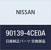 NISSAN (日産) 純正部品 バツクプレート ドア XーTRAIL 品番90139-4CE0A