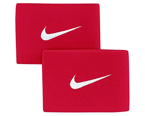 Nike Guard Stay II - University Red, White/サッカー シンガード ストッパー Guard Stay II (one size)
