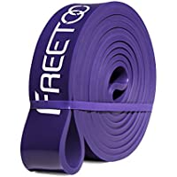 FREETOO フィットネスチューブ トレーニングチューブ ゴムチューブ ストレッチ 筋トレ エクササイズバンド 懸垂補…
