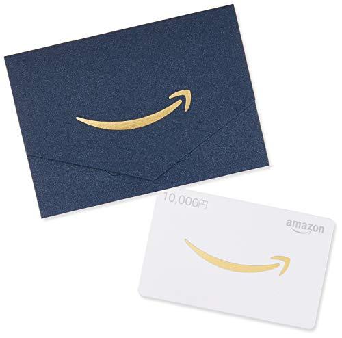 Amazonギフト券 封筒タイプ - 10,000円(ミニサイズ - ネイビー)