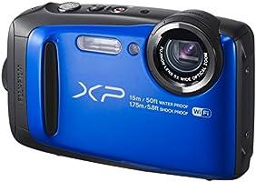 FUJIFILM デジタルカメラ XP90 防水 ブルー FX-XP90BL