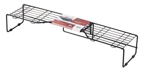 パール金属 ストレージブラック コンロ奥 ラック H-6005