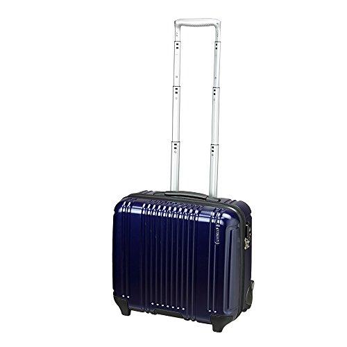 [バーマス]BERMAS スーツケース プレステージ PRESTIGE2 キャリーバッグ ビジネスキャリー 横型 2輪 31L TSAロック 機内持込 60259 (ネイビー)
