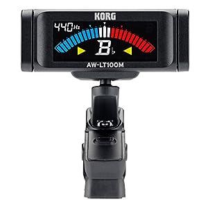 KORG 100時間連続駆動 管弦楽器用 クリップ式チューナー AW-LT100M