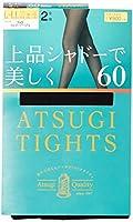 [アツギ] 60デニール アツギ タイツ (ATSUGI TIGHTS) 上品シャドーで美しく 60D〈2足組〉 レディース FP90162P ブラック 日本 M~L (日本サイズM-L相当)