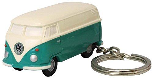 フォルクスワーゲン キーホルダー タイプ2 バス ライト付き グリーン VW...