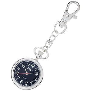 [フィールドワーク]Fieldwork 懐中時計 キーチェーンウォッチ アナログ表示 ブラック DT111-2