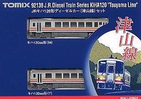 Nゲージ車両 キハ120形ディーゼルカー (津山線)  92138