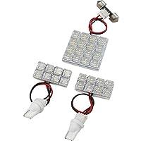 L550/560S ムーヴラテ(ムーブ) [H16.8-H20.12] RIDE LEDルームランプ 32発 3点