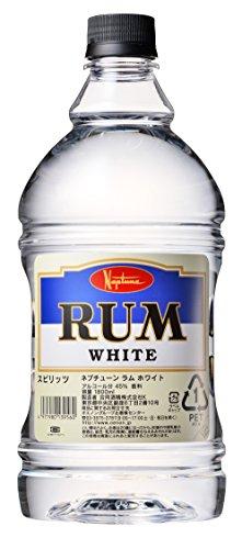 合同酒精 ネプチューン  ラムホワイト 45度 ペット 1800ml