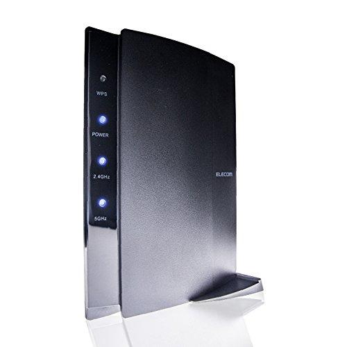エレコム WiFi 無線LAN ルーター 親機 11ac/n/a/g/b 867+300Mbps 有線Giga 接続推奨12台 Nintendo S