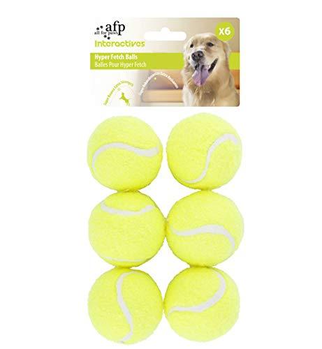 【afp】 犬用玩具ボール6個セット スーパーバウンステニス...