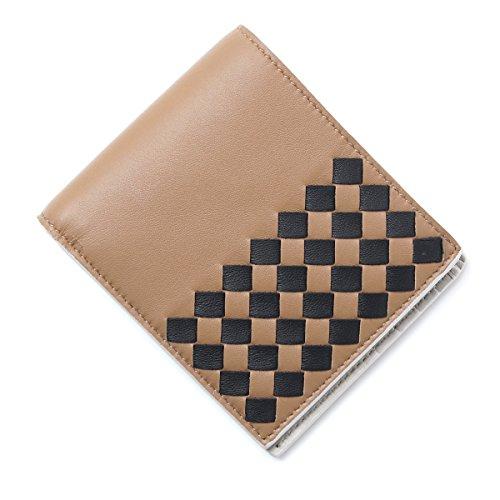 (ボッテガヴェネタ) BOTTEGA VENETA 二つ折り 財布/CHECKER NAPPA チェッカー ナッパ [並行輸入品]