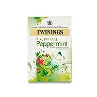 Twinings Invigorating Peppermint (Pack of 6) - ペパーミントの爽快トワイニング (x6) [並行輸入品]