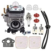 Mannial WYK-186 Carburetor Carb fit Echo PB-260L SRM-260S SRM-261S PPT-260 PPT-261 Power Blower Leaf Blower Shindaiwa 81742 AH242 AHS242 C242 T242X T242 LE242 String Trimmer A021000700 [並行輸入品]