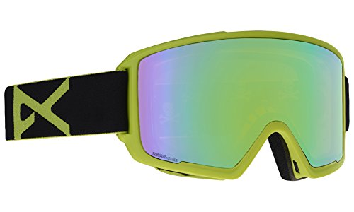 18-19 ANON (アノン) ゴーグル M3 - ASIAN FIT WITH SPARE BLACK_GREEN 203391 エムスリー アジアンフィット アジアンフィット ジャパンフィット スノーボード スキー