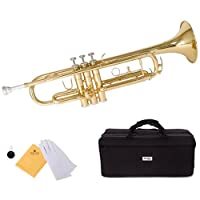 MTT-L Trumpet Bb トランペット Mendini by Cecilio社 Gold【並行輸入】
