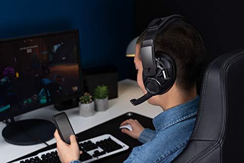 『ゼンハイザー ワイヤレスゲーミングヘッドセット 密閉型 Low-Latency Connection/Bluetooth GSP 670【国内正規品】』の1枚目の画像