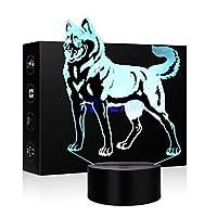 3d照明ランプ Wolf