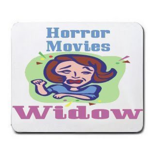 Horror Movies Widow Mousepad [Office Product] by T-ShirtFrenzy [並行輸入品]