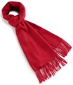 Cashmere Scarf 1336-343-2728: Red