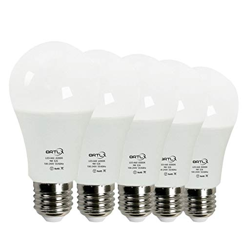 BRTLX LED電球 E26口金 60W形相当 9W 昼白...