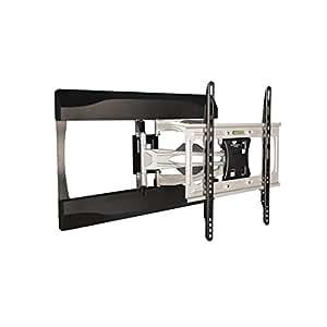液晶テレビ壁掛け金具 37-65インチ対応 上下左右アームタイプ ブラックシルバー PRM-ACE-LT17MBS 【中型テレビ壁掛け】