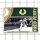 フレッドペリー 限定 レア ピンバッジ フレッドペリー洋服テニス選手 ピンズ フランス