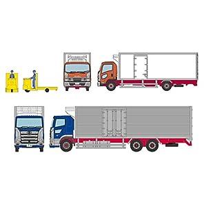ザ・トラックコレクション 豊洲 冷凍トラック ターレット式場内運搬車 セット ジオラマ用品 (メーカー初回受注限定生産)