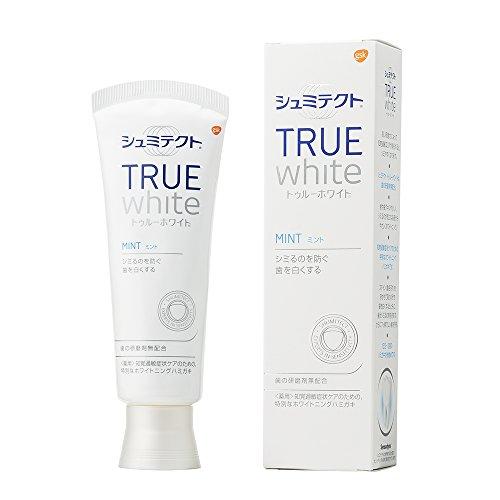 [医薬部外品]薬用シュミテクト トゥルーホワイト 研磨剤無配合 知覚過敏予防 歯磨き粉 80g