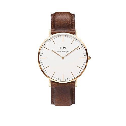 ダニエルウェリントン DANIELWELLINGTON 腕時計 メンズ&レディース レザー アナログ 0106DW (40mm) [並行輸入品]