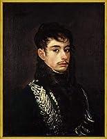 フレーム Francisco De Goya ジクレープリント キャンバス 印刷 複製画 絵画 ポスター(役員の肖像) #XLK