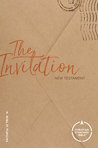 The Invitation New Testament: Christian Standard Bible