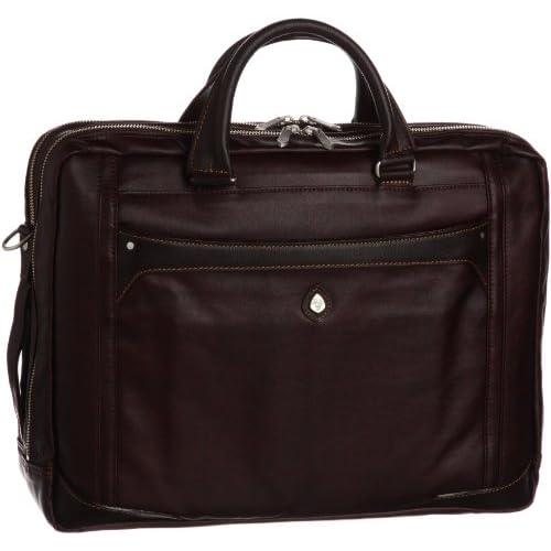 [ウルティマ トウキョウ] ultima tokyo varietas クラウディオ ビジネスバッグ(B4サイズ・2気室・PCポケット付き・中仕切り付き) 48205 08 (ブラウン)