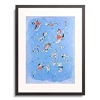 ワシリー・カンディンスキー Wassily Kandinsky Vassily Kandinsky 「空色 Sky Blue. 1940.」 額装アート作品