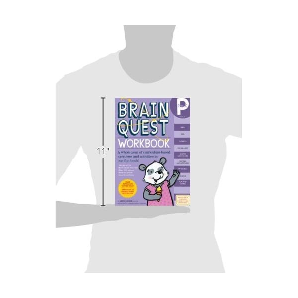 Brain Quest Workbook Pre-Kの紹介画像3