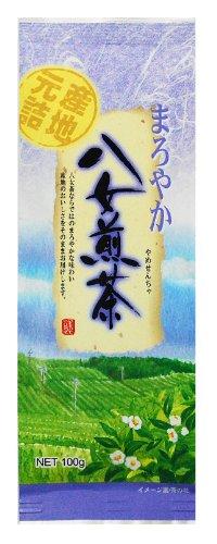 西日本銘茶 まろやか八女煎茶 100g