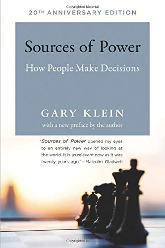 Download Sources of Power: How People Make Decisions (The MIT Press) 0262534290