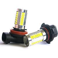 SAMSUNG製 33連 LEDフォグライト ホワイト H8/H11/H16