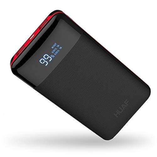モバイルバッテリー 24000mah 大容量 急速充電 99% 機種対応 LCD残量表示 地震/災害/旅行/出張/アウトドア活動などの必携品 USB充電可 一週間の電量が満足できる ナイロン袋付き