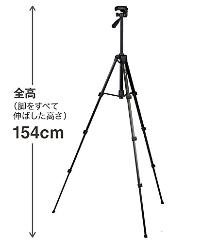 SLIK 三脚 GX 6400 4段 レバーロック 21mmパイプ径 3ウェイ雲台 クイックシュー式 216835